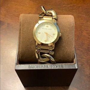 Michael Kors Gold Chain Watch
